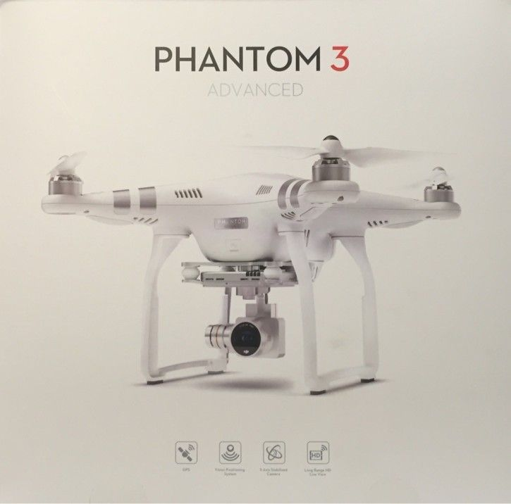 DJI Phantom 3 Advanced Quadrocopter Drohne