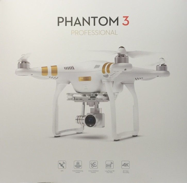 DJI Phantom 3 Professional Quadrocopter Drohne