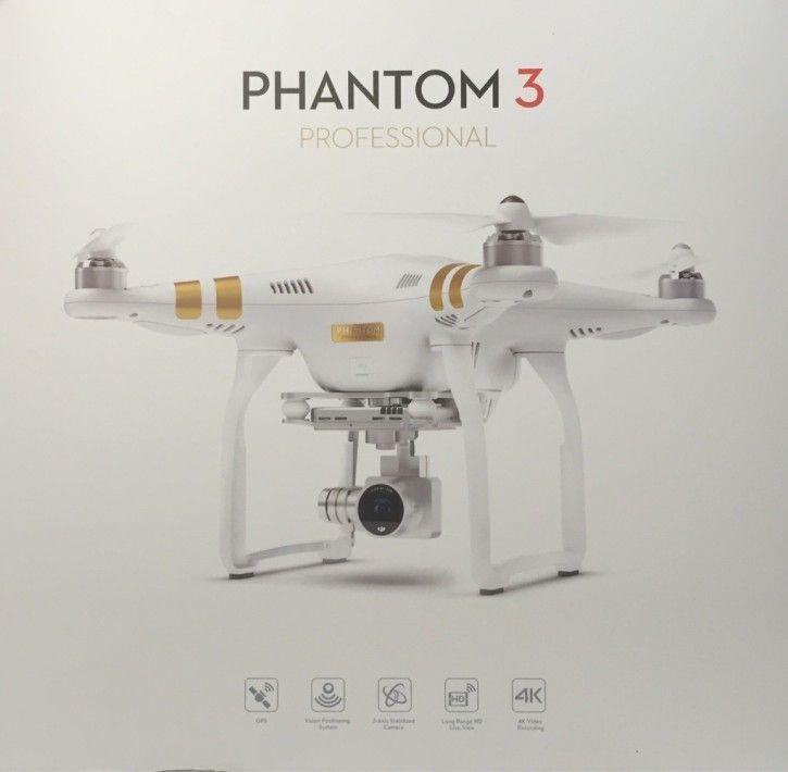 DJI Phantom 3 Professional Quadrocopter Drohne