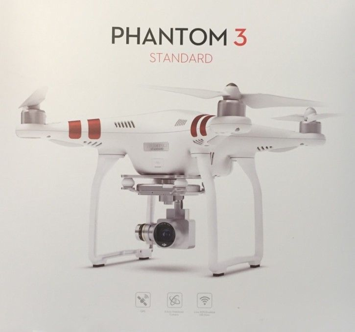 DJI Phantom 3 Standard Quadrocopter
