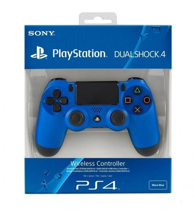 Sony Dualshock 4 Wireless Controller, blau