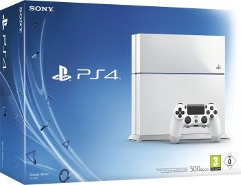 Sony PlayStation 4 500GB inkl. Controller Glacier White