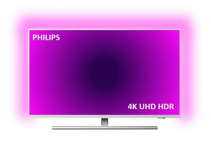 Philips Ambilight 43PUS8505/12 LED-TV 109cm 43 Zoll Silber
