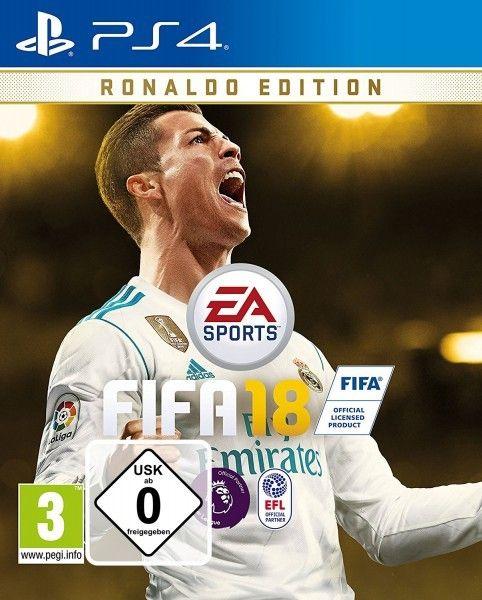 PS4 Spiel - FIFA 18 - Ronaldo Edition PEGI