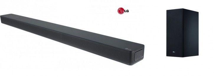LG SK6F, Lautsprecher schwarz, Chromecast, WLAN, Bluetooth