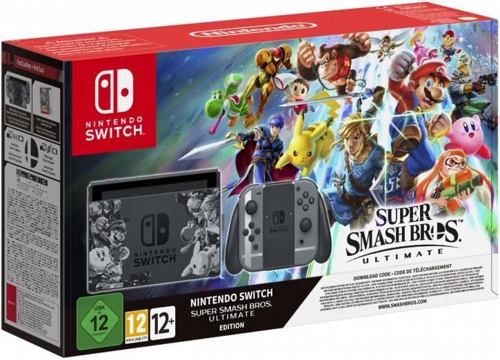 Nintendo Switch Super Smash Bros. Ultimate Edition