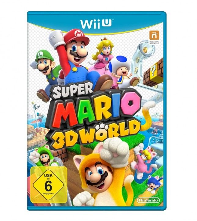 Nintendo Wii U Spiel - Super Mario 3D World