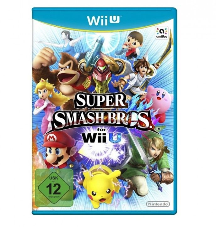Nintendo Wii U Spiel - Super Smash Bros