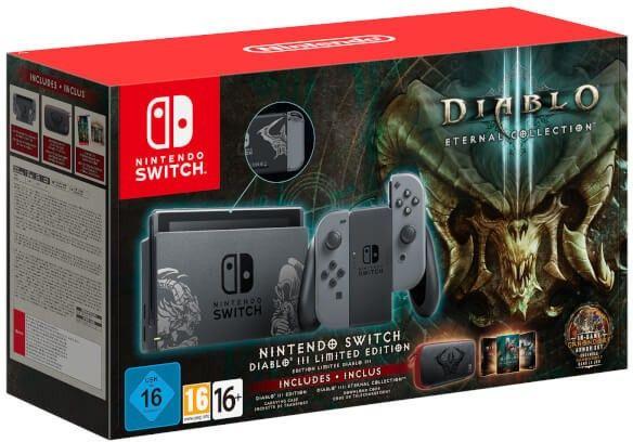 Nintendo Switch Konsole Diablo III - Limited Edition Bundle
