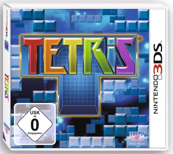 3DS Spiel - Tetris