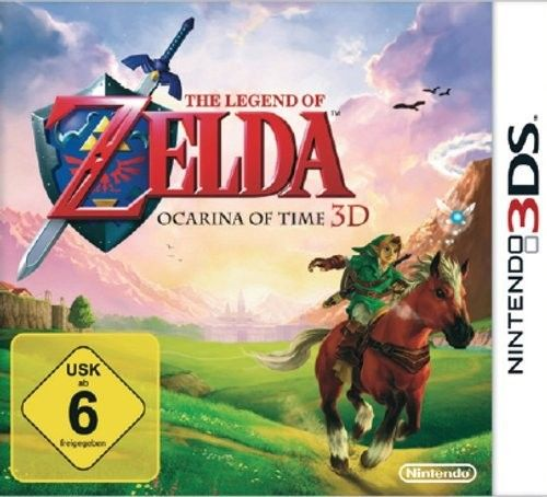 3DS Spiel -  The Legend of Zelda: Ocarina of Time 3D