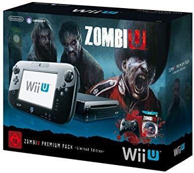 Konsole Nintendo Wii U 32 Go schwarz - 'ZombiU' premium pack (B-Ware)