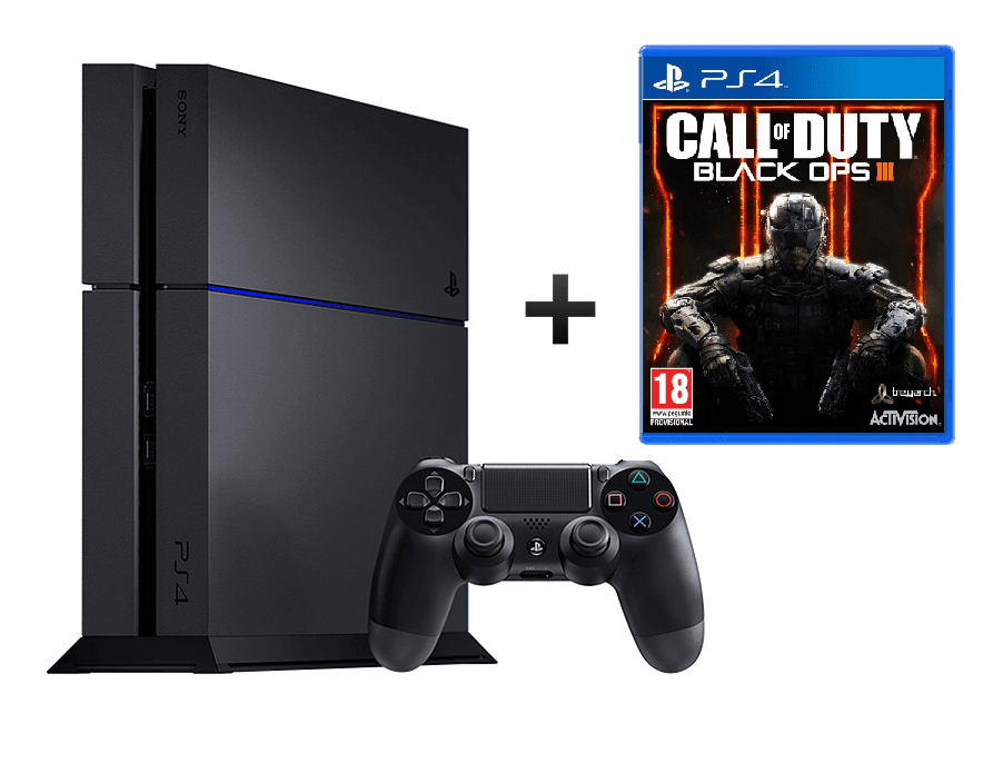 Sony Playstation 4 1TB SlimBundle inkl. Call of Duty Black Ops III