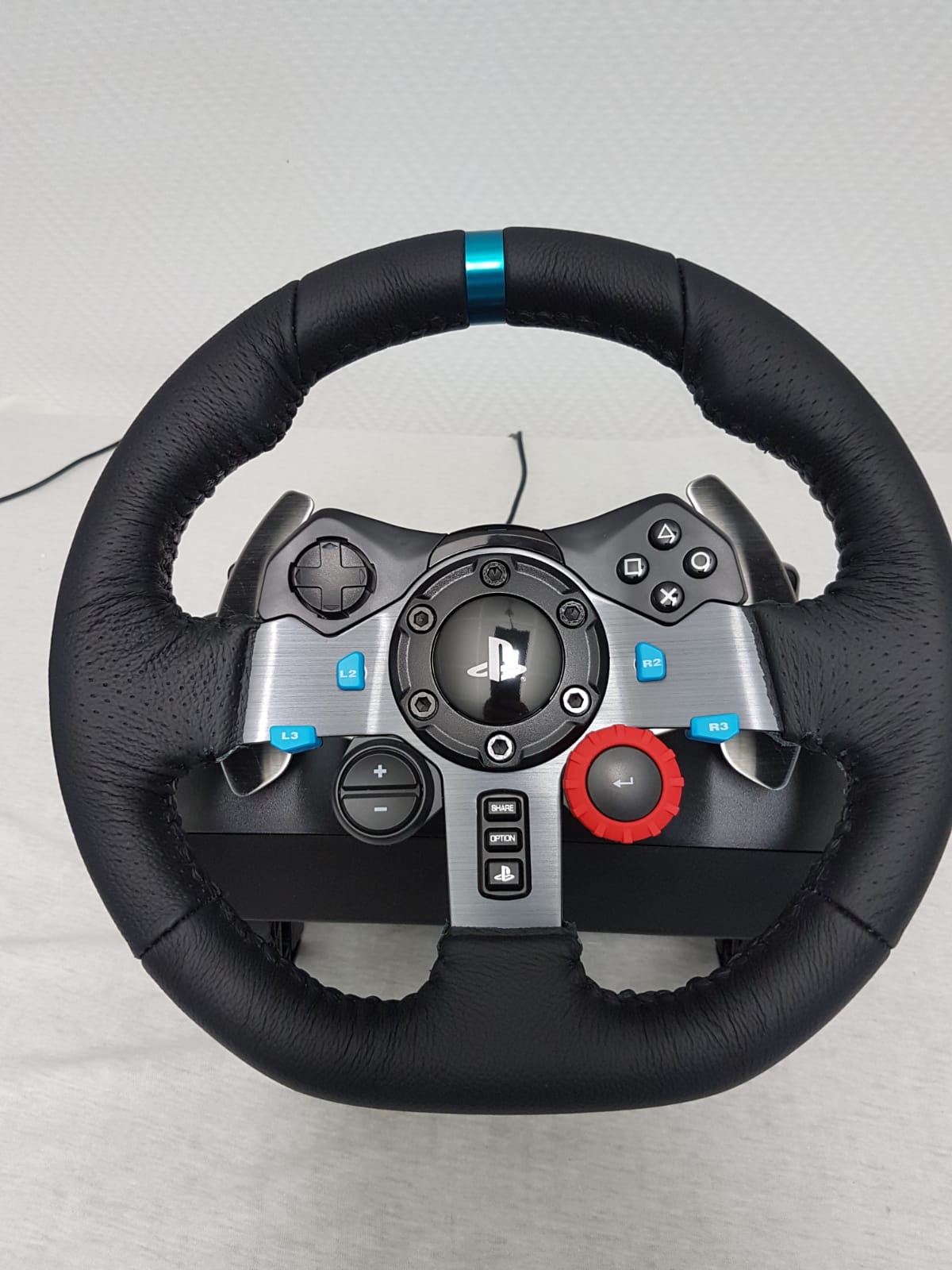 efbfb474b01 Logitech G29 Racing Steering Wheel Driving Force for PS4, PS3, PC (B ...