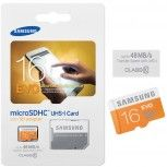 16GB micro SD SDHC Speicherkarte Samsung EVO Class 10