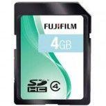 4GB SDHC Speicherkarte Fujifilm Class 4
