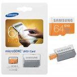 64GB Micro SDXC Speicherkarte Samsung UHS-I Class 10