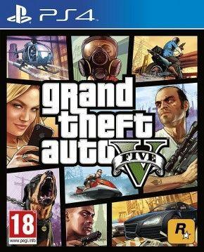 PS4 Spiel - Grand Theft Auto V - GTA 5