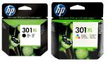 HP Original 301XL schwarz/cyan/magenta/gelb