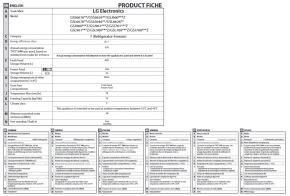LG Electronics GSJ961NEBZ Sidy-by-Side Kühlschrank, EEK: A++
