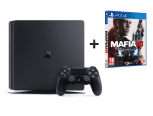 Sony Playstation 4 SLIM 1TB Bundle inkl. Mafia III