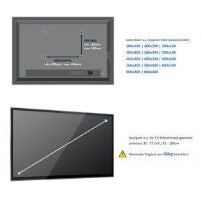 deleyCON LCD/LED TV Wandhalterung