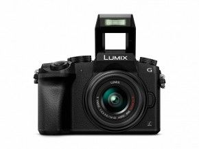 Panasonic Lumix DMC-G70 14-42 mm schwarz