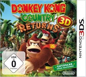 3DS Spiel - Donkey Kong Country Returns