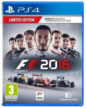 PS4 Spiel - F1 2016