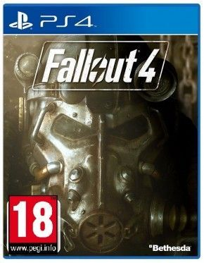 PS4 Spiel - Fallout 4 - Uncut inkl. Poster