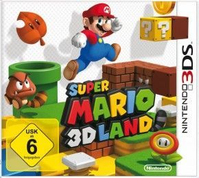 3DS Spiel - Super Mario 3D Land