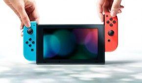 Nintendo Switch Spielekonsole Neon-Rot/Neon-Blau