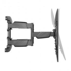 """Wandhalterung für TV Monitore 37-75"""" vollbeweglich, ausziehbar, schwenkbar, neigbar, drehbar, ultraflach"""