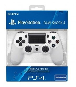 Sony Dualshock 4 Wireless Controller, weiß