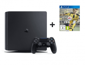 Sony PS4 Slim 500GB Bundle inkl. FIFA 17