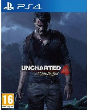 PS4 Spiel - Uncharted 4: A Thief's End